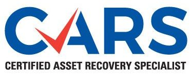 Certified Asset Recovery Specialist - CARS Certified Logo